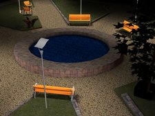 Outdoor Rendering - Park