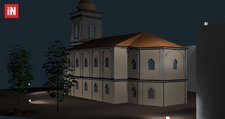 Outdoor Rendering - Church